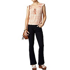 Dorothy Perkins - Petite crochet tile bubble top