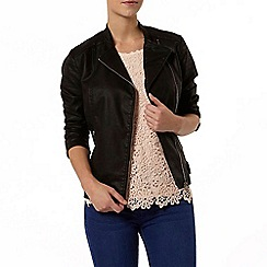 Dorothy Perkins - Petite stand collar jacket