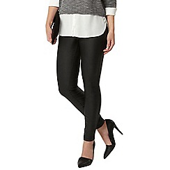 Dorothy Perkins - Petite casual pu treggings