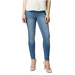 Dorothy Perkins - Petite bleach 'eden' capri jeggings