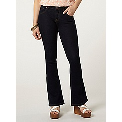 Dorothy Perkins - Petite indigo flare jeans