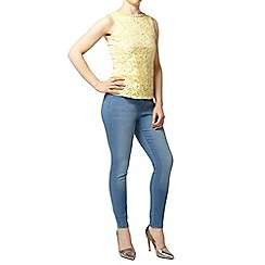 Dorothy Perkins - Petite embellished shell top