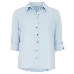 Dorothy Perkins - Petite chambray twill shirt