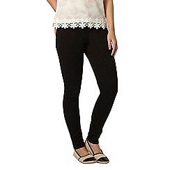 Dorothy Perkins - Petite black 'frankie' jeggings
