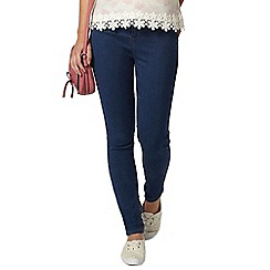 Dorothy Perkins - Petite blue 'frankie' jeggings