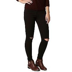 Dorothy Perkins - Petite high waist rip 'bailey' jeans