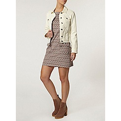 Dorothy Perkins - Petite ecru denim jacket