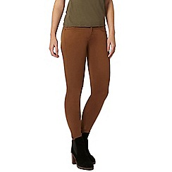 Dorothy Perkins - Petite tan frankie jeggings
