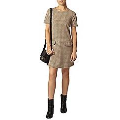 Dorothy Perkins - Petite camel 60's shift dress