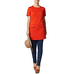 Dorothy Perkins - Petite orange shift dress