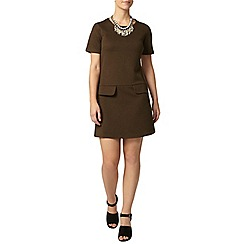 Dorothy Perkins - Petite green shift dress