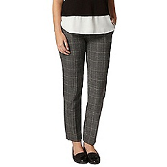 Dorothy Perkins - Petite grey piped trouser