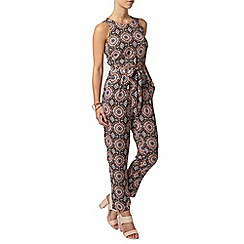 Dorothy Perkins - Petite rust tribal jumpsuit