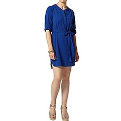 Dorothy Perkins - Petite blue shirt dress