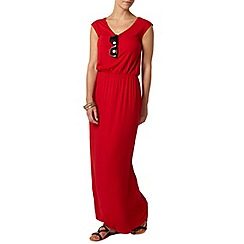 Dorothy Perkins - Petite red t-shirt maxi dress