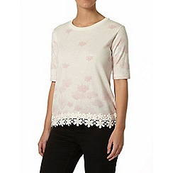 Dorothy Perkins - Petite floral printed jumper