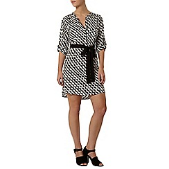 Dorothy Perkins - Petite zig zag shirt dress