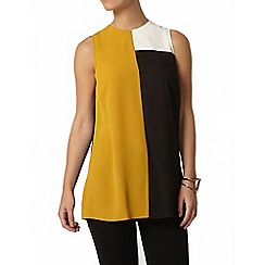 Dorothy Perkins - Petite colour block top