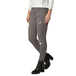 Dorothy Perkins - Petite grey 'casey' skinny jeans