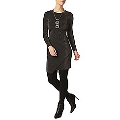 Dorothy Perkins - Petite black shimmer dress