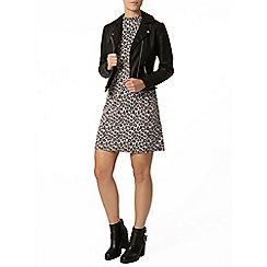 Dorothy Perkins - Petite pink leopard dress