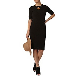 Dorothy Perkins - Petite black bodycon dress