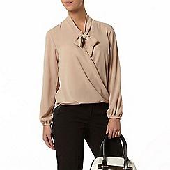 Dorothy Perkins - Petite stone wrap blouse