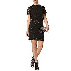 Dorothy Perkins - Petite black sequin dress