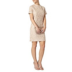 Dorothy Perkins - Petite champagne sequin dress