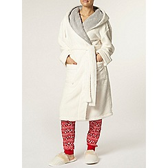 Dorothy Perkins - Petite ivory textured robe