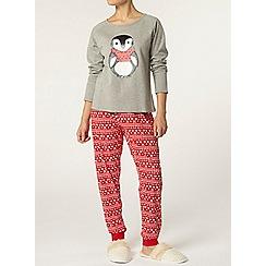 Dorothy Perkins - Petite fairisle pyjama pants