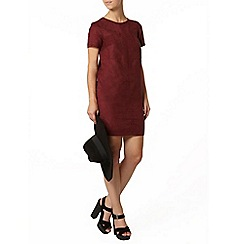 Dorothy Perkins - Petite suedette shift dress
