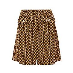 Dorothy Perkins - Petite ochre a line skirt