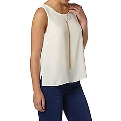 Dorothy Perkins - Petite ivory built up camisole