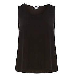 Dorothy Perkins - Petite black built up camisole