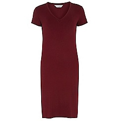 Dorothy Perkins - Petite red jersey midi dress