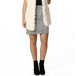 Dorothy Perkins - Petite a-line mini skirt