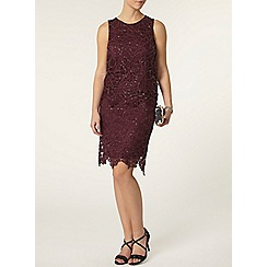 Dorothy Perkins - Petite sequin skirt in purple