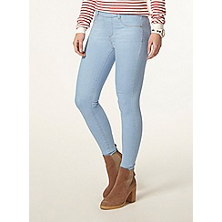Dorothy Perkins - Petite bleach 'eden' jeggings