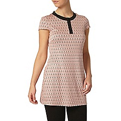 Dorothy Perkins - Petite pink button tunic