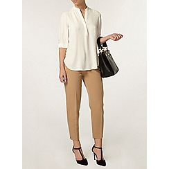 Dorothy Perkins - Petite camel pocket trousers