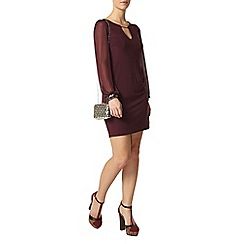 Dorothy Perkins - Petite purple sequin dress