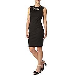 Dorothy Perkins - Petite black lace detail dress