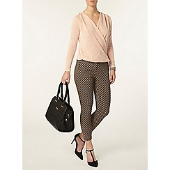Dorothy Perkins - Petite camel skinny trousers