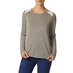 Dorothy Perkins - Petite lace back top