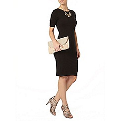 Dorothy Perkins - Petite plain black dress