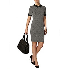 Dorothy Perkins - Petite black and grey dress