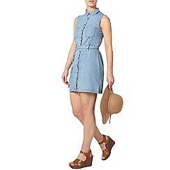 Dorothy Perkins - Petite denim shirt dress