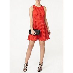 Dorothy Perkins - Petite coral flare dress
