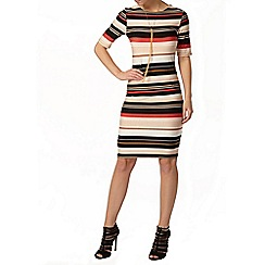 Dorothy Perkins - Petite stripe bodycon dress